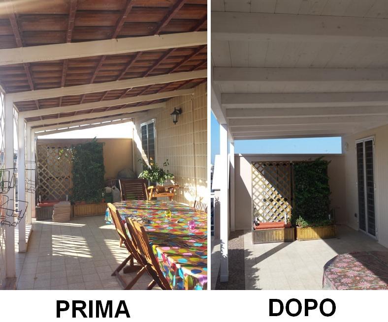 Copertura pavimento terrazzo copertura terrazzi piante da - Soluzioni per copertura terrazzi ...