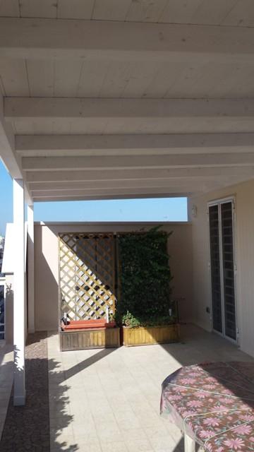 Copertura terrazzo - Realizzazioni - Installazione e manutenzione di impianti elettrici ed ...